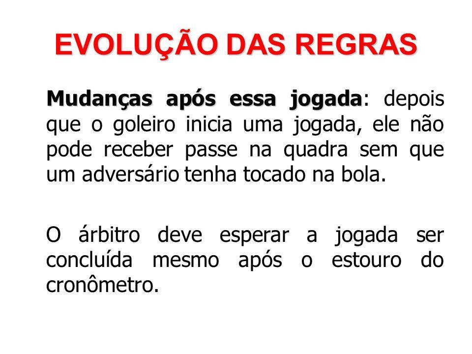 d2eca0cc34ec1 EVOLUÇÃO DAS REGRAS Consequência. 84 Mudanças ...